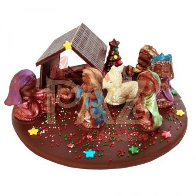 Pesebre de Chocolate