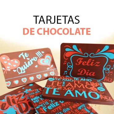 Tarjetas de Chocolate